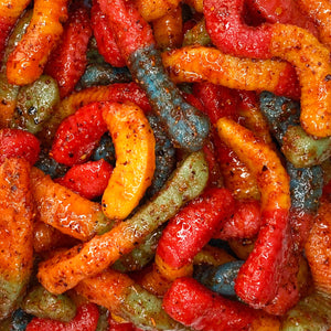 Sour Gummy Worm Chamoy Chilitos