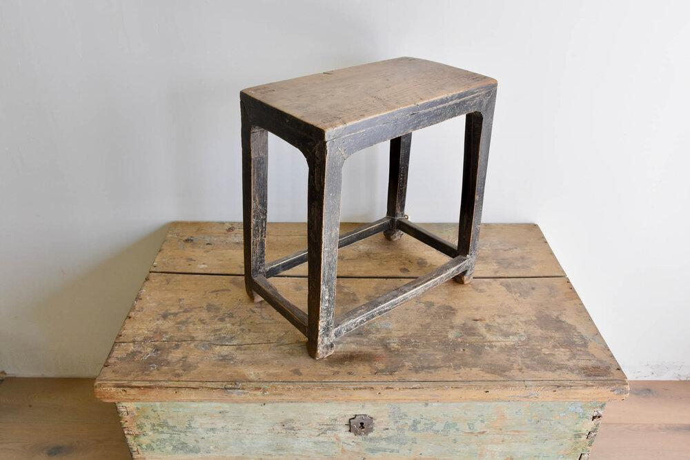 Antique Shed Stool