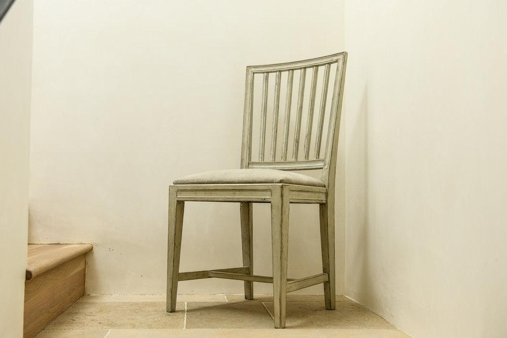 Provincial Swedish Gustavian Dining Chairs