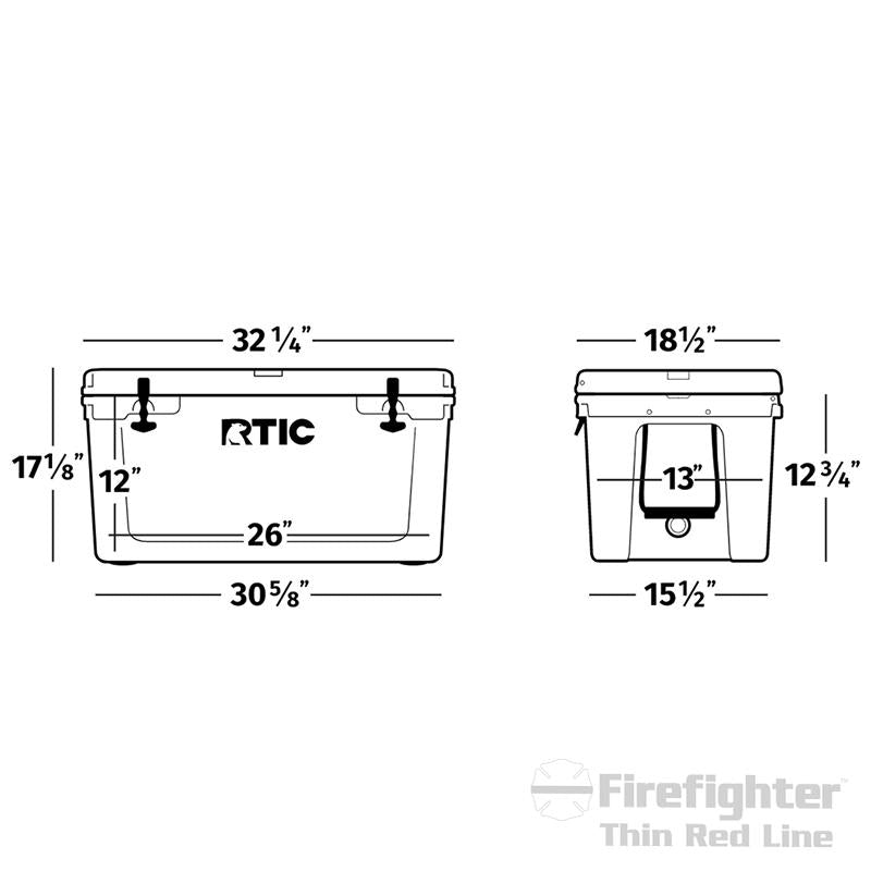 RTIC Firefighter Cooler (65 Quarts)