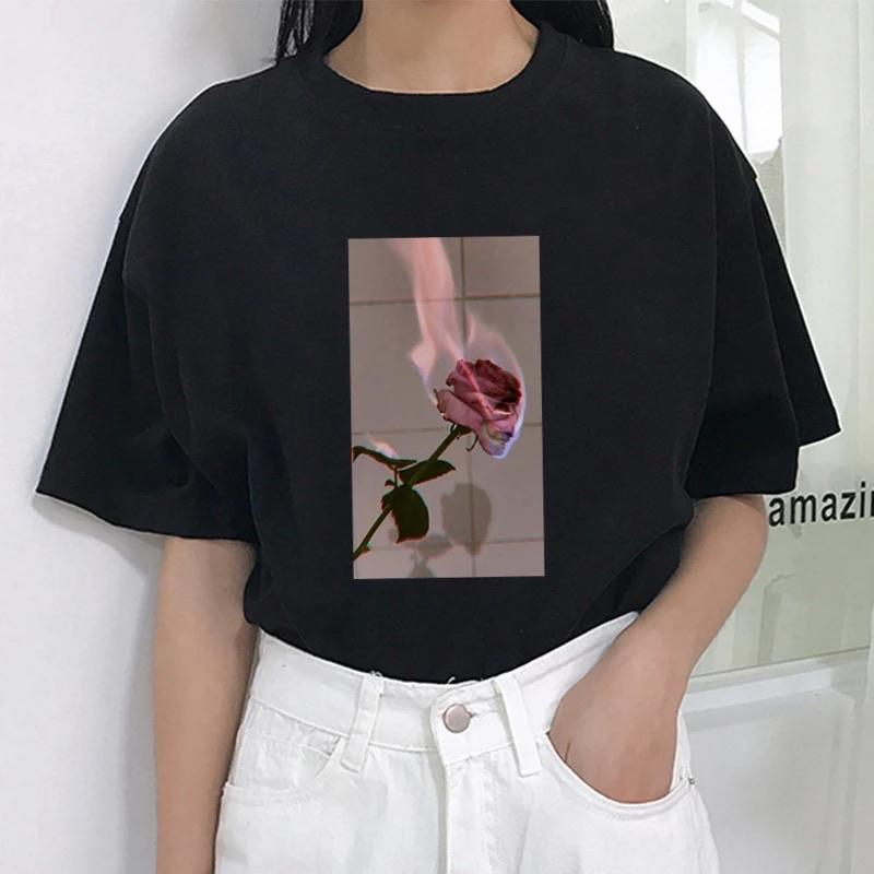 Tricou Burning Rose