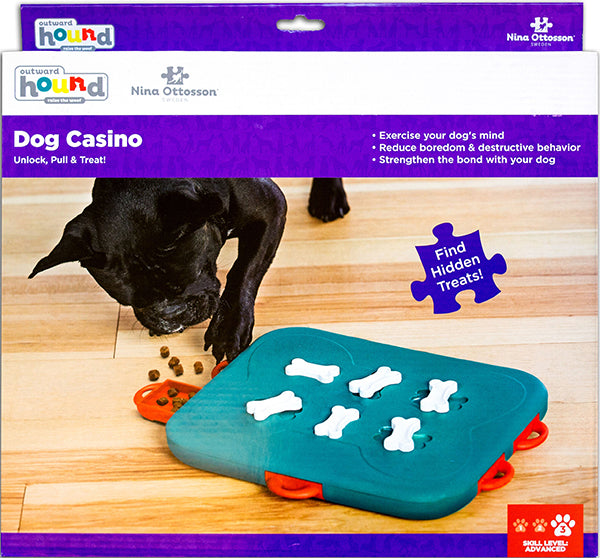 Nina Ottosson Outward Hound 'Dog Casino' Treat Puzzle Game