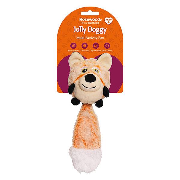 Multi Activity Squeak Switch Fox