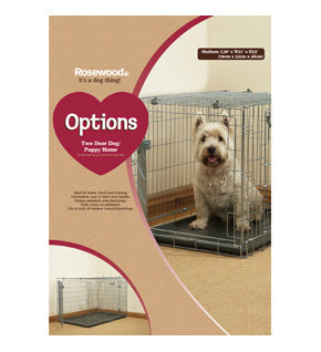 2 Door Dog/Puppy Homes (various sizes)