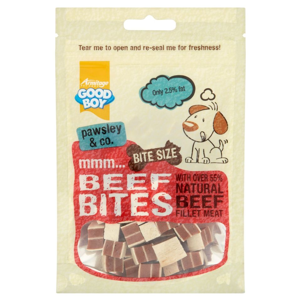 Good Boy Beef Bites 65g
