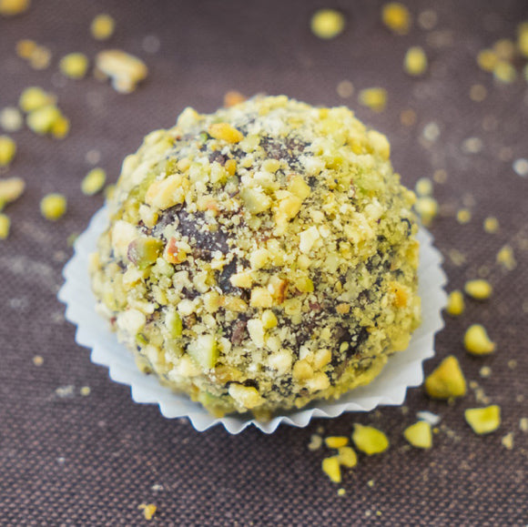 Chocolate Pistachio Superfood Bliss Ball