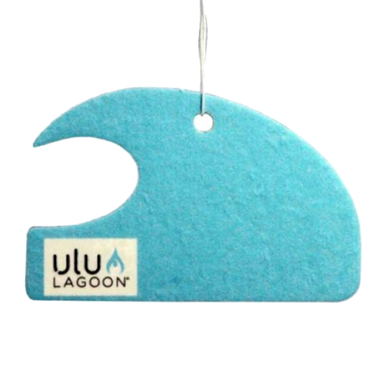 uluLAGOON Blue Mini Wave Coconut Surf Wax Scented Air Freshener
