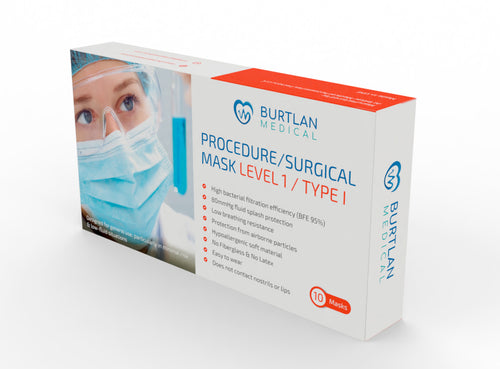 Procedure / Surgical Masks Level 1 - Type I