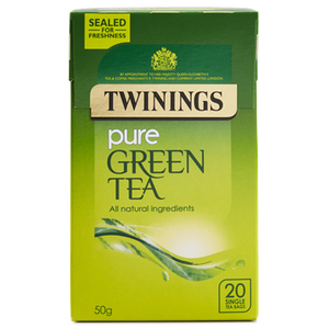 Pure Green Tea (12 x 20 bags)