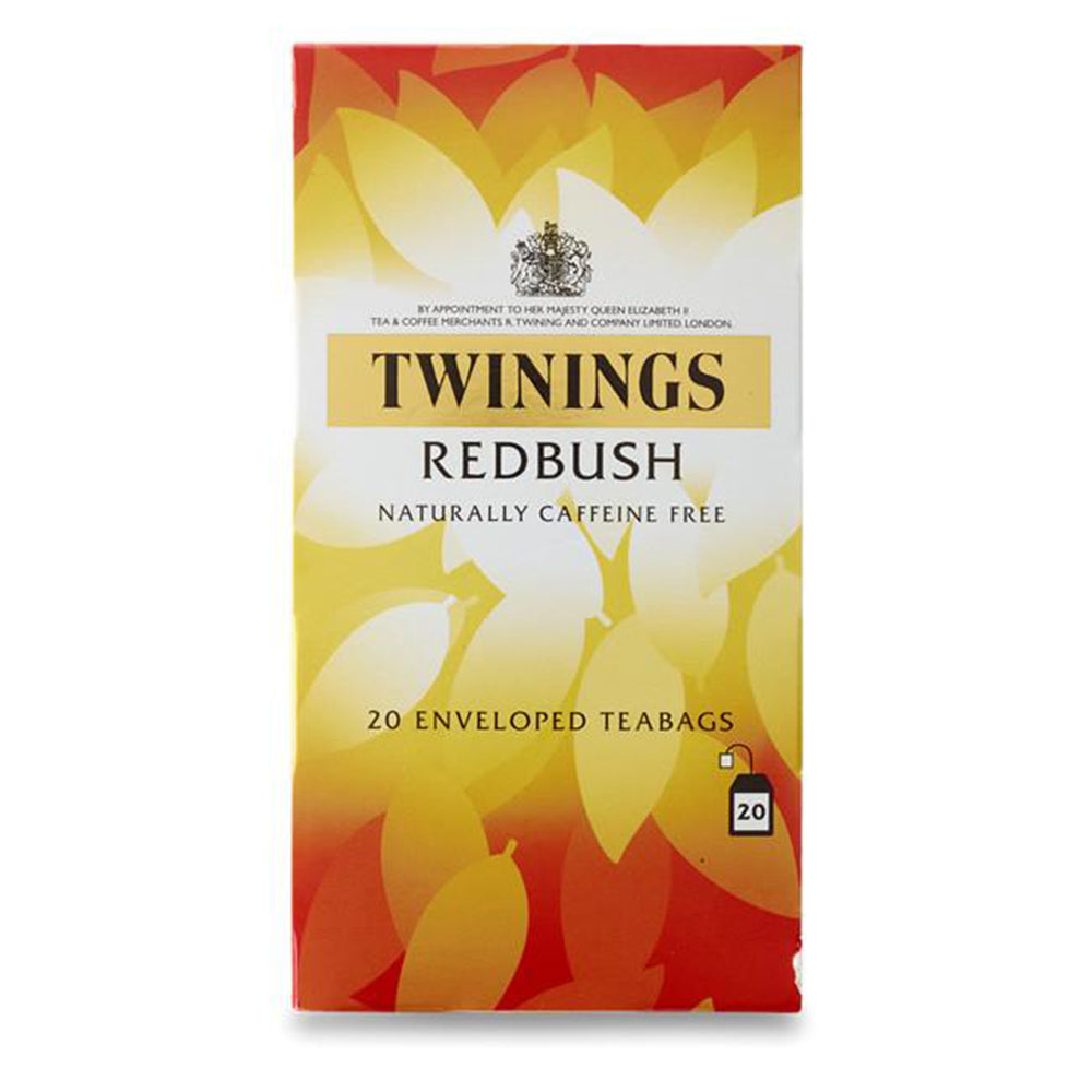 Redbush (Rooibos) Tagged & Enveloped Tea Bags (50 bags)