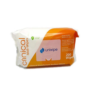 Clinical Sanitising Wipes (200s)