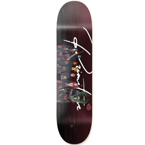 Primitive Akatsuki Clan Skateboard Deck Black 8.125""