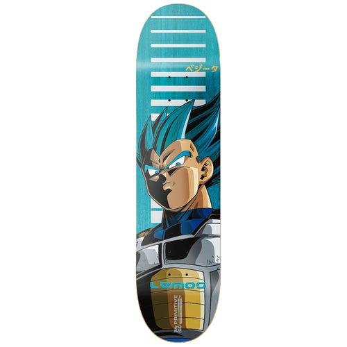 Primitive Lemos SSG Vegeta Skateboard Deck Blue 8.25""