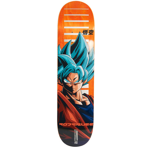 Primitive Rodriguez SSG Goku Skateboard Deck Orange 8.00""