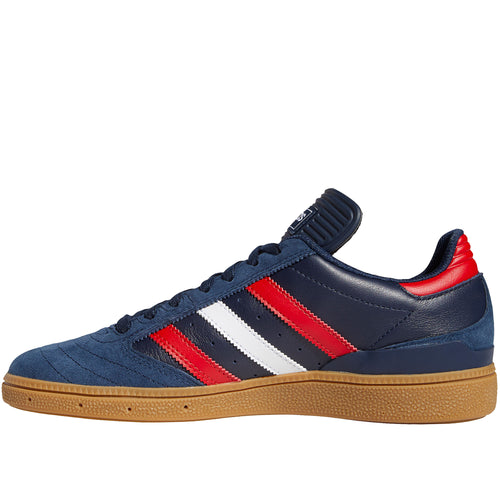 Adidas Busenitz Shoes Navy Scarlet White