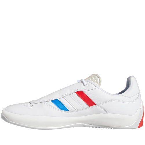 Adidas Skateboarding Puig Shoes White Blue Red