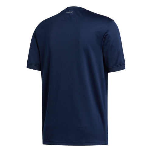 Adidas Aero Club Jersey T-Shirt Navy White