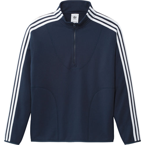 Adidas Terry Track Top Sweater Navy White