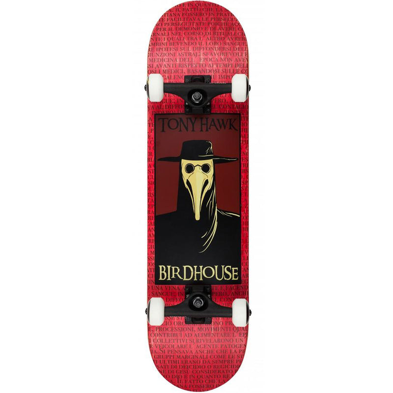 Birdhouse Stage 3 Plague Doctor Complete Skateboard 8.00""