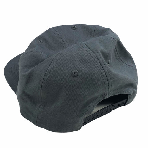 Blast Skates Smash Cap Unstructured Snapback Charcoal