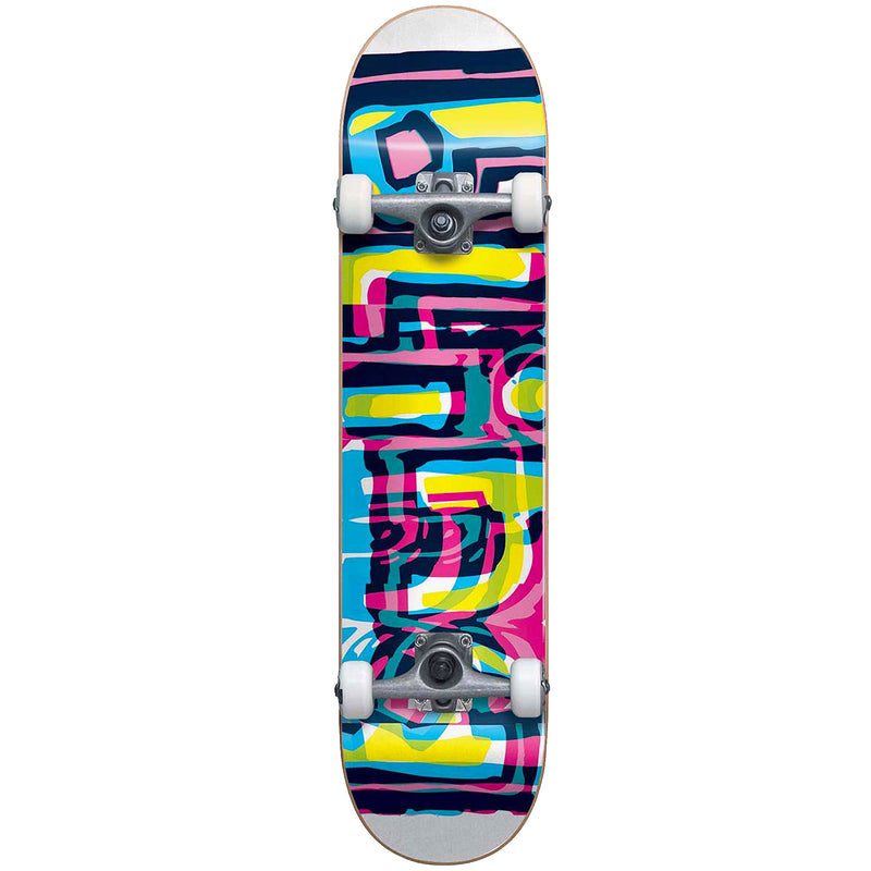 Blind Logo Glitch Youth Complete Skateboard 7.25""