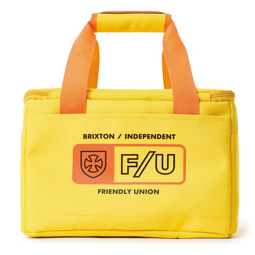 Brixton x Independent Cooler Bag - Yellow