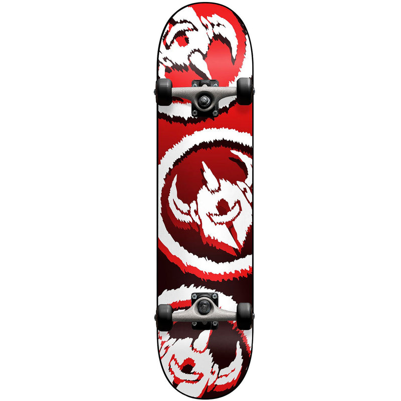 Darkstar Dissent Complete Skateboard Red 7.50""