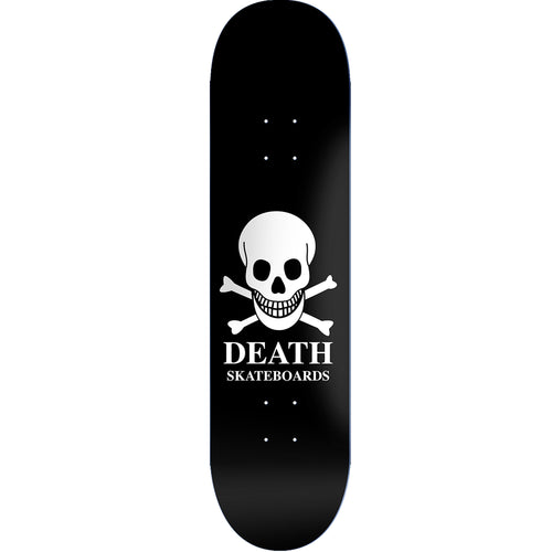 Death Skateboards OG Skull Deck Black 8.10""