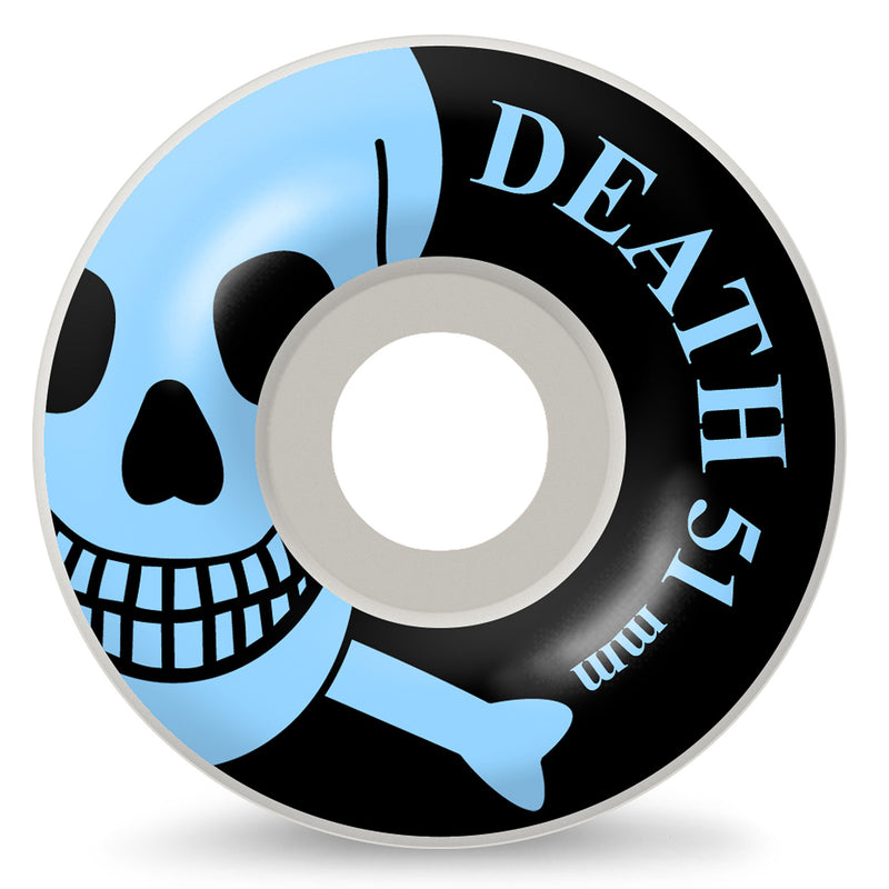 Death Skateboards Skull Wheels 51mm