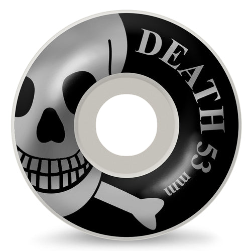 Death Skateboards Skull Wheels 53mm