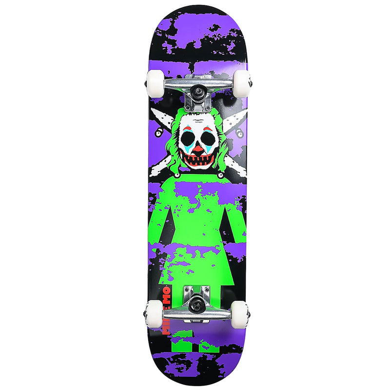 Girl Skateboards Clown Pirate Mike Mo Complete 8.125""