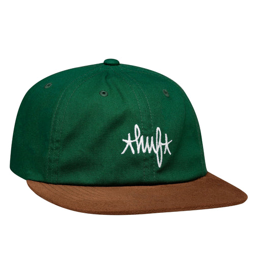 HUF Haze Contrast Six Panel Cap Forest Green