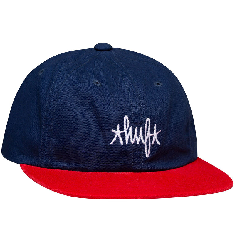 HUF Haze Contrast Six Panel Cap French Navy
