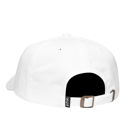 HUF Love Hat Curved Visor Cap - White