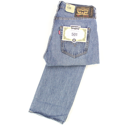 Levis 501 Jeans - Willow Wash