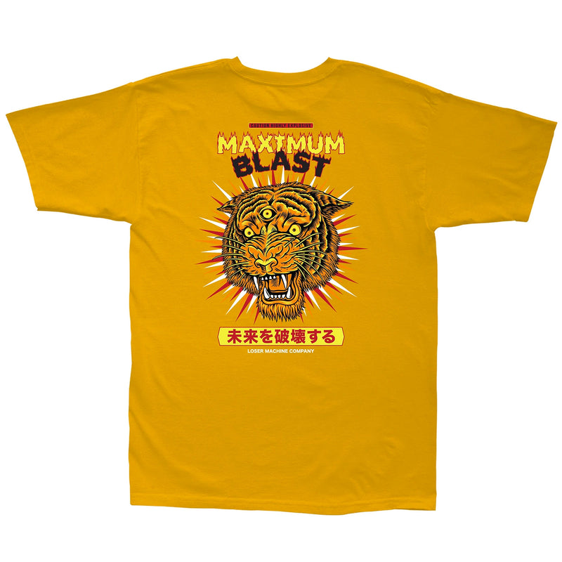 Loser Machine Bengal Blaster T-Shirt Gold