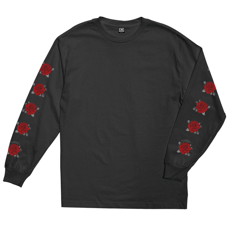 Loser Machine Flourish Long Sleeve T-Shirt Black
