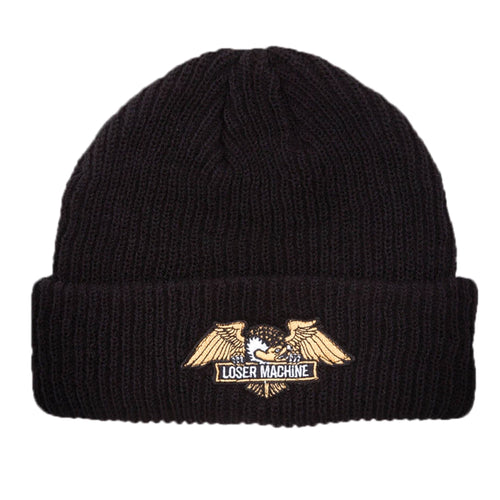 Loser Machine Frank Beanie Black