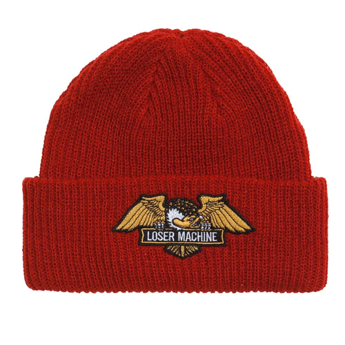 Loser Machine Frank Beanie Red