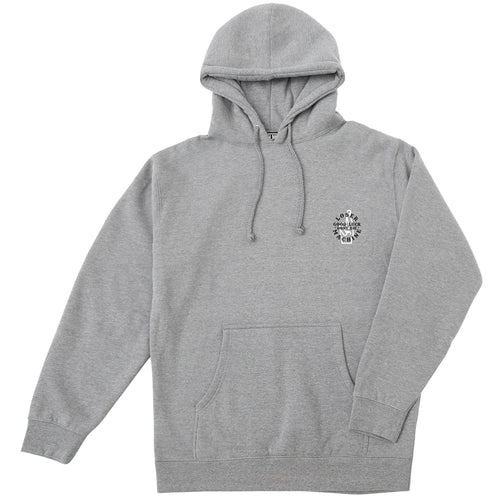 Loser Machine Local Pullover Hoodie Heather Grey