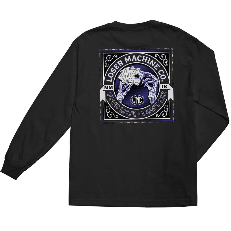 Loser Machine Slow Hand Long Sleeve T-Shirt Black