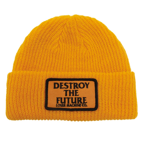 Loser Machine Token Beanie Gold