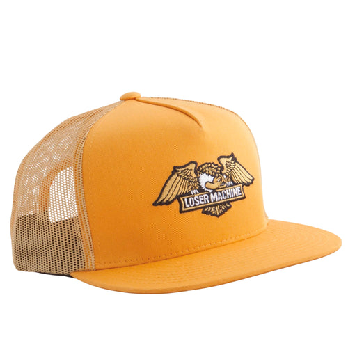 Loser Machine Wings Trucker Cap Gold