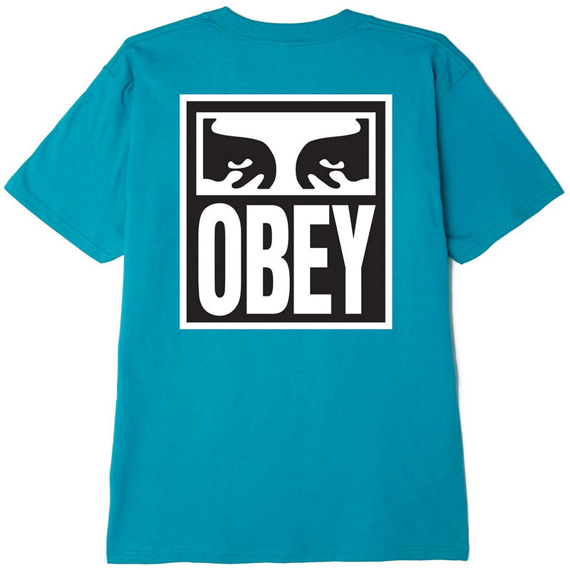 OBEY Eyes Icon 2 T-Shirt Teal