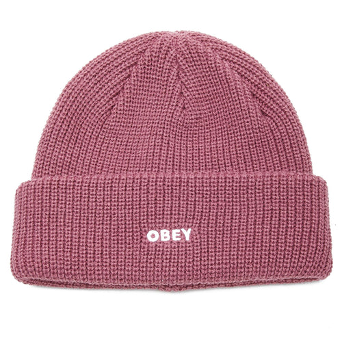 OBEY Future Beanie Mesa Rose