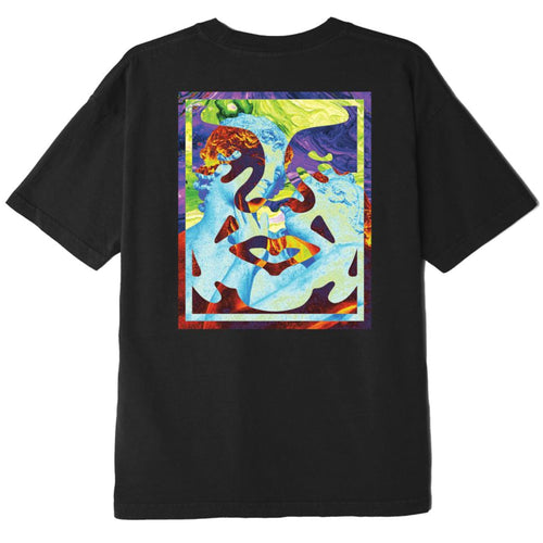 OBEY Statue Icon T-Shirt Black