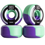 Orbs Apparitions Splits Skateboard Wheels 56mm Mint Lavender