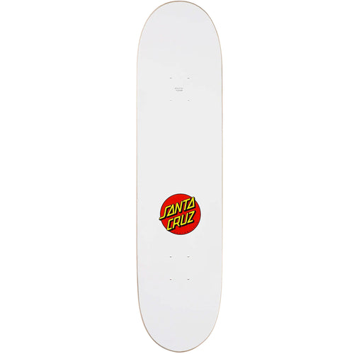 Santa Cruz Classic Dot Skateboard Deck 8.00""