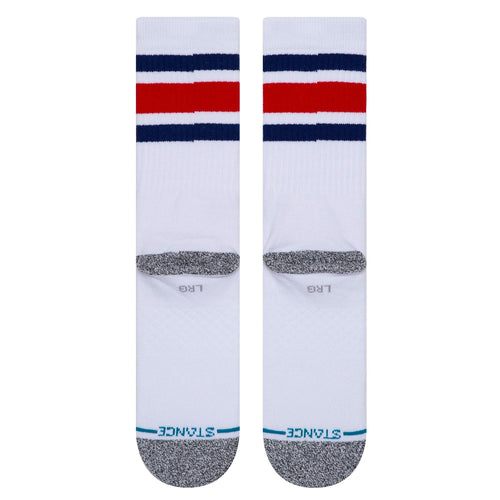 Stance Boyd Staple Socks White Blue