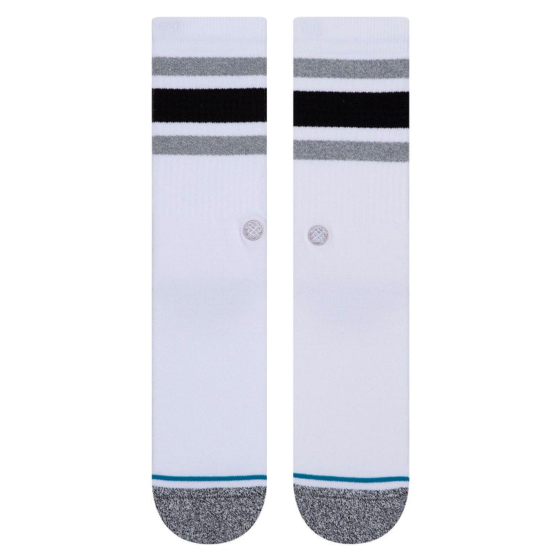 Stance Boyd Staple Socks White Black